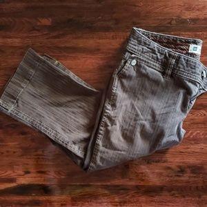Gap Capri Stretch Cotton Pants